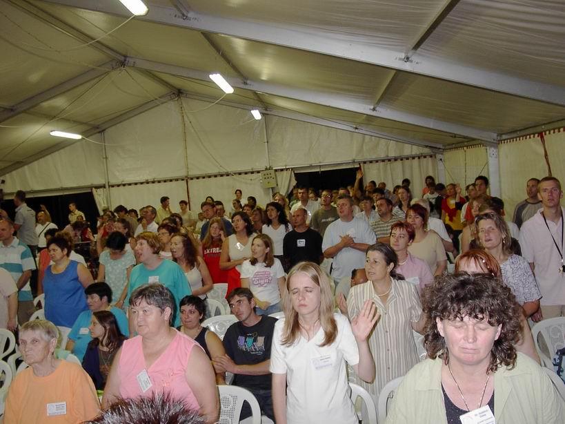 Agapé tábor, 2007-08-17