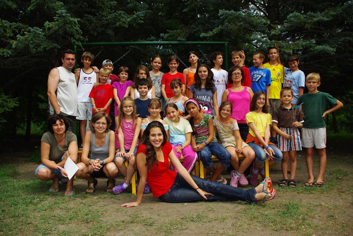 Gyerektábor – Szelidi-tó, 2010-07-26